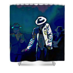The Smooth Criminal Shower Curtain by  Fli Art