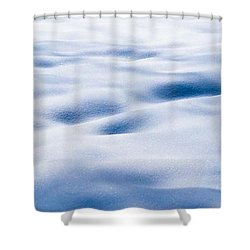 The Snow Carpet - Featured 2 Shower Curtain by Alexander Senin
