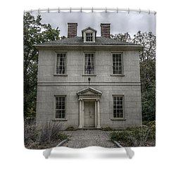 The Solitude House Shower Curtain by Richard Reeve