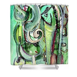 The Song Shower Curtain