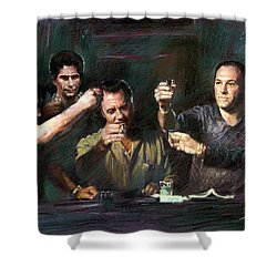 The Sopranos Shower Curtain