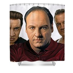 The Sopranos  Artwork 2 Shower Curtain