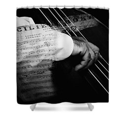 The Sound Of Memory Shower Curtain