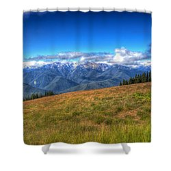The Sound Of Music Shower Curtain by Heidi Smith