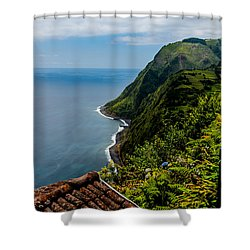 The Southeastern Coast Shower Curtain