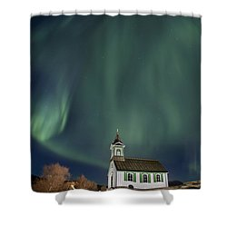 The Spirit Of Iceland Shower Curtain