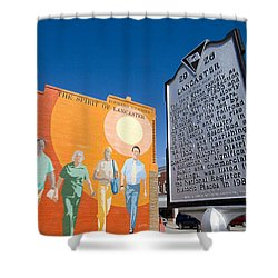 The Spirit Of Lancaster Shower Curtain
