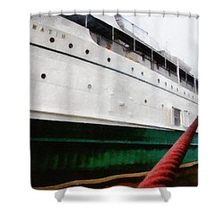 The S.s. Keewatin Shower Curtain by Michelle Calkins