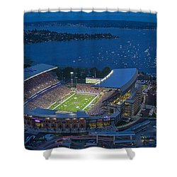 Husky Stadium And The Lake Shower Curtain