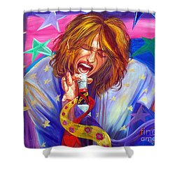 The Star Is Born Shower Curtain by To-Tam Gerwe