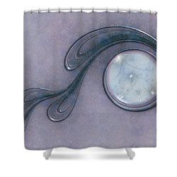 The Stars From The Sky Shower Curtain by Gabiw Art