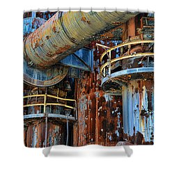 The Steel Mill Shower Curtain