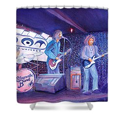 The Steepwater Band Shower Curtain