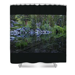 Shower Curtain featuring the photograph The Stillness Of Dawn  by Sean Sarsfield