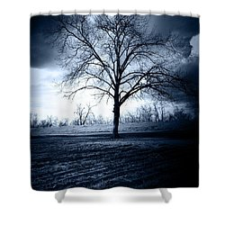 The Storm Shower Curtain by Susan Bordelon