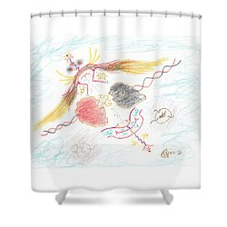 The Story Knows Best Shower Curtain by Mark David Gerson