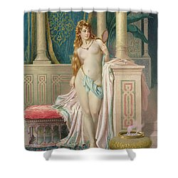 The Sultans Favorite Shower Curtain by Frederico Ballesio