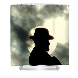 New Orleans General Robert E. Lee Mounment Shower Curtain by Michael Hoard