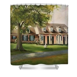 The Sunrise House Shower Curtain