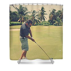 The Swing Of Things Shower Curtain