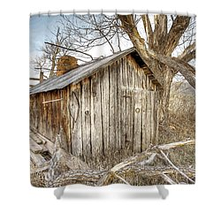 The Tack Shed Shower Curtain