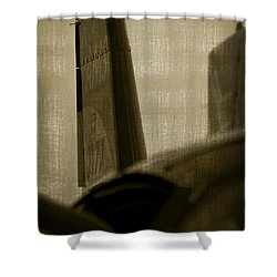The Tail Shower Curtain by Paul Job
