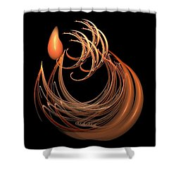 The Tear Shower Curtain by Nancy Pauling