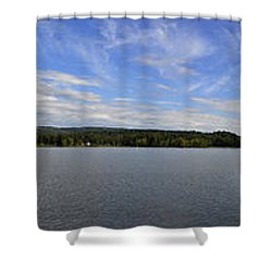 The Tennessee River In Alabama Shower Curtain by Verana Stark
