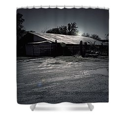Tcm  #7 - Slaughterhouse Shower Curtain by Trish Mistric