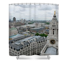 The Thames From St Paul's Shower Curtain