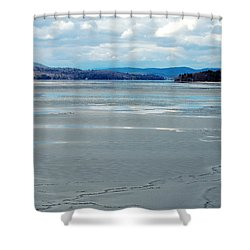 The Thaw Shower Curtain