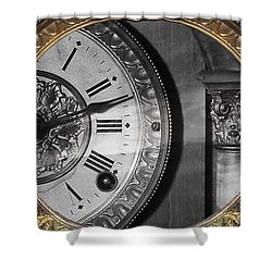 The Time Machine Shower Curtain