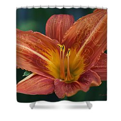 The Time Of My Life Shower Curtain by Jeanette C Landstrom