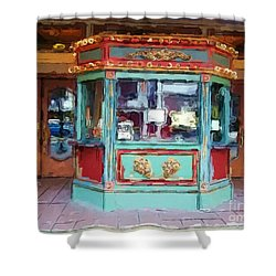 The Tivoli Theatre Shower Curtain by Kelly Awad