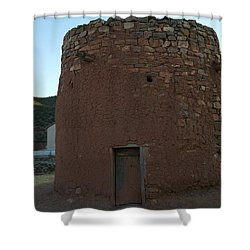 The Torreon In Lincoln City New Mexico Shower Curtain by Jeff Swan