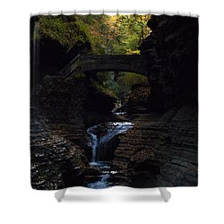 The Trail To Rivendell Shower Curtain