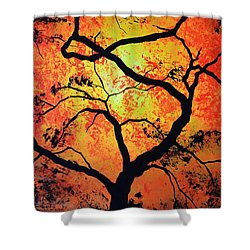 The Tree Of Life #1 Shower Curtain