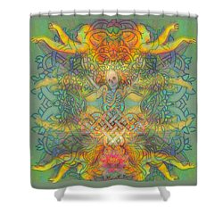 The Tree Of The Knowledge Of Good And Evil Shower Curtain by Hidden  Mountain