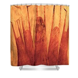 The Tree Of Weeping Shower Curtain