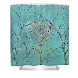 The Trees Speak To Me In Whispers Shower Curtain