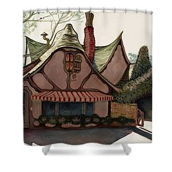 The Tuck Box Shower Curtain