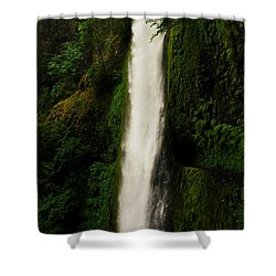 The Tunnel Behind Tunnels Falls Shower Curtain by Jeff Swan