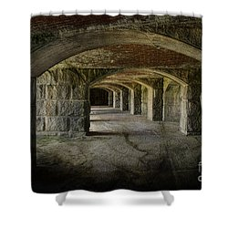 The Tunnels Shower Curtain