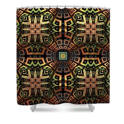 The Undiscovered Tribe Shower Curtain by Lyle Hatch