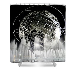 The Unisphere's 50th Anniversary Shower Curtain