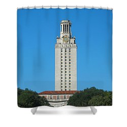 The University Of Texas Tower Shower Curtain