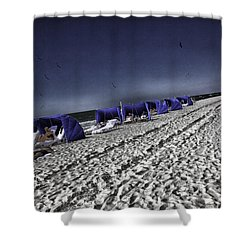 The Vacationers 1 Shower Curtain by Madeline Ellis