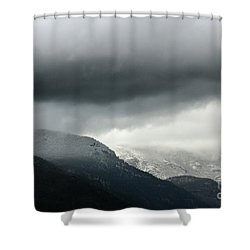 Shower Curtain featuring the photograph The Valley by Dana DiPasquale