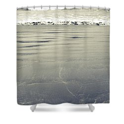 The Vastness Of The Sea Shower Curtain by Lisa Knechtel