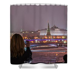 The View - Featured 3 Shower Curtain by Alexander Senin